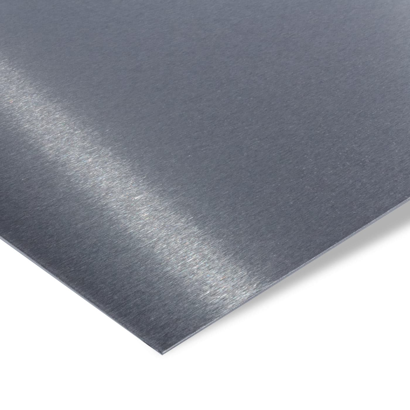 Lochblech Qg 10-15 Edelstahl K240 geschliffen 1,5 mm Stärke Zuschnitt nach Maß